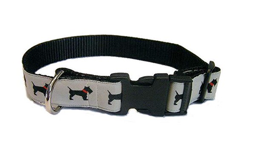 Scottie dog collar