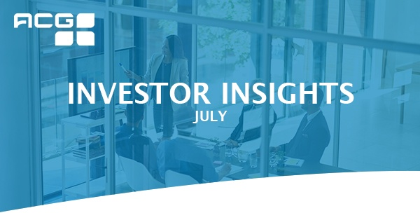Investor Insights - July 2021
